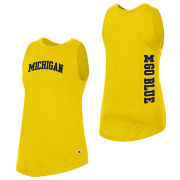 Champion University of Michigan Women's Yellow University 2.0 Tank Top