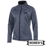 Champion University of Michigan Women's Heather Navy ''Fury'' Softshell Jacket