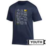 Champion University of Michigan x Star Wars Youth ''A New Hope'' Navy Tee