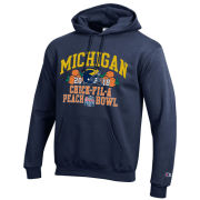 Champion University of Michigan Football Youth Navy Bowl Game Hooded Sweatshirt