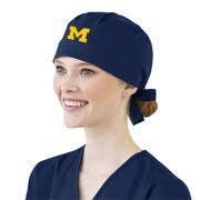 WonderWink University of Michigan Navy Scrub Cap