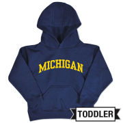 College Kids University of Michigan Toddler Navy Hooded Sweatshirt