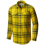 Columbia University of Michigan Flare Gun Flannel Button Down Shirt