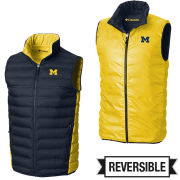 Columbia University of Michigan Lake 22 Down Reversible Vest
