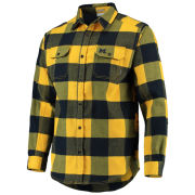 Columbia University of Michigan Deschutes River Heavyweight Flannel Shirt
