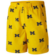 Columbia University of Michigan Yellow Backcast Bathing Suit