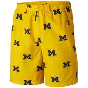 Columbia University of Michigan Yellow Backcast Swimsuit