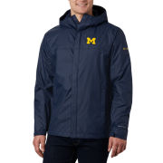 Columbia University of Michigan Navy Watertight II Waterproof Jacket