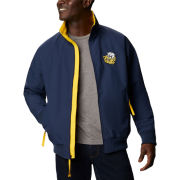 Columbia University of Michigan Navy College Vault Falmouth Full Zip Jacket