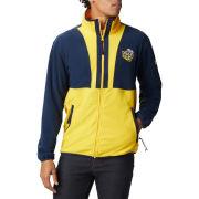 Columbia University of Michigan Navy/Yellow College Vault Wolverine Back Bowl Full Zip Fleece Jacket