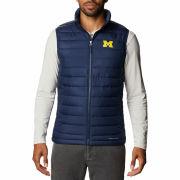 Columbia University of Michigan Navy Powder Lite Vest