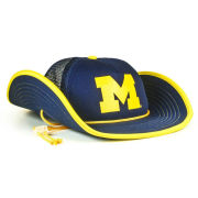 Cowbucker University of Michigan Blue Out Bucker Meshback Snapback Cowboy Hat