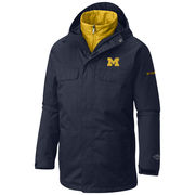 Columbia University of Michigan Navy Bugaboo 3-in-1 Interchange Jacket