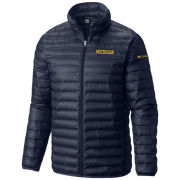 Columbia University of Michigan Navy Flash Forward Down Jacket