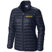 Columbia University of Michigan Women's Flash Forward Down Jacket