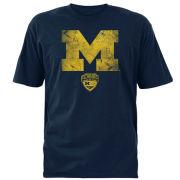 289c University of Michigan Football Navy Advocare Classic Logo Tee