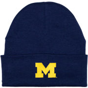 Creative Knitwear University of Michigan Newborn Infant Navy Cuffed Knit Hat