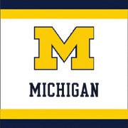 Mayflower Distributing University of Michigan 2-Ply Beverage Napkins [24 Count]