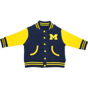 Creative Knitwear University of Michigan Infant Navy/Yellow Varsity Jacket