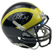 University of Michigan Football Channing Stribling Autographed Mini Helmet