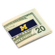 Cufflinks Inc. University of Michigan Navy Money Clip