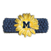 Divine Creations University of Michigan Infant Girls Crochet Knit Headband