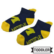 Donegal Bay University of Michigan Toddler Navy ''Michigan'' Socks