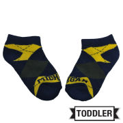 Donegal Bay University of Michigan Toddler Argyle Socks
