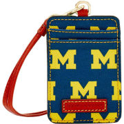 Dooney & Bourke University of Michigan Lanyard ID Holder