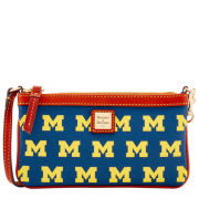 Dooney & Bourke University of Michigan Large Wristlet