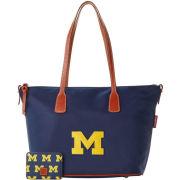 Dooney & Bourke University of Michigan Top Zip Tote Bag