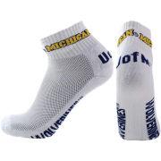Donegal Bay University of Michigan White Quarter Crew Socks