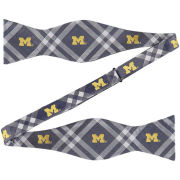 Eagles Wings University of Michigan Woven Poly Rhodes Bow Tie