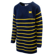 Emerson Street University of Michigan Women's Juliette Striped Knit Tunic Sweater