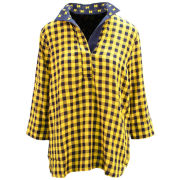 Emerson Street Clothing Co. University of Michigan Women's Gingham Tunic