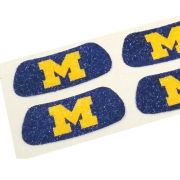 Eye Black University of Michigan Glitter Eye Black Stripes [2 Pair Pack]