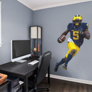 Fathead University of Michigan Jabrill Peppers Life Size Wall Graphic