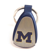 Fanatic Group University of Michigan Tear Drop Keychain