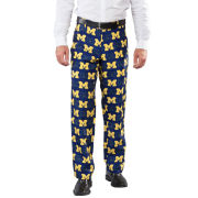 Valiant University of Michigan Multi- Block ''M'' Logo Ugly Business Suit Pant