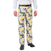 Valiant University of Michigan Football All Over Logo Ugly Business Suit Pant