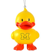 Forever Collectibles University of Michigan Rubber Ducky Ornament