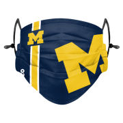 Forever Collectibles University of Michigan Football Sideline Face Cover