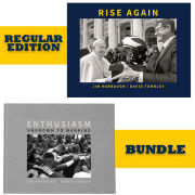 University of Michigan Book: Rise Again and Enthusiasm Unknown to Mankind Bundle by Jim Harbaugh and David Turnley [Regular Edition]