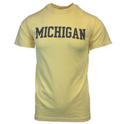The Game University of Michigan Butter Yellow Comfort Colors Tee