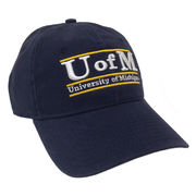 The Game University of Michigan Washed Navy Bar Hat