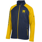 Gear University of Michigan Navy/ Yellow Innovative Full Zip Jacket