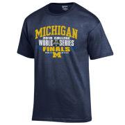 Gear University of Michigan Baseball College World Series Finals Tee