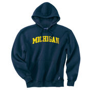 Gear University of Michigan Navy Tackle Twill Hooded Sweatshirt