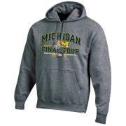 Gear University of Michigan Basketball Final Four Granite Hooded Sweatshirt
