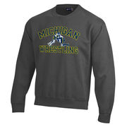 Gear University of Michigan Wrestling Granite Crewneck Sweatshirt